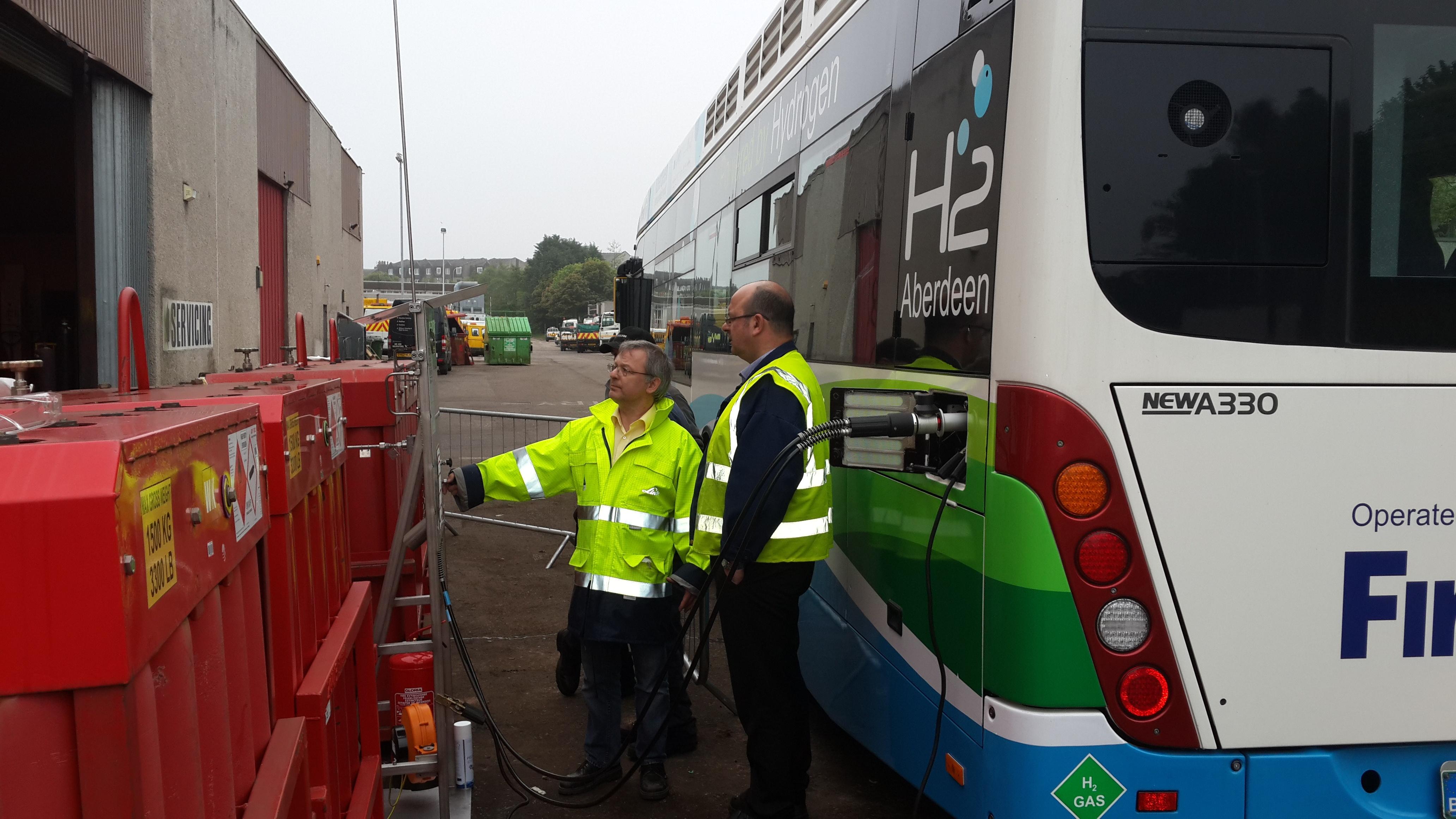 Aberdeen Bus Hydrogen Fuelling Station