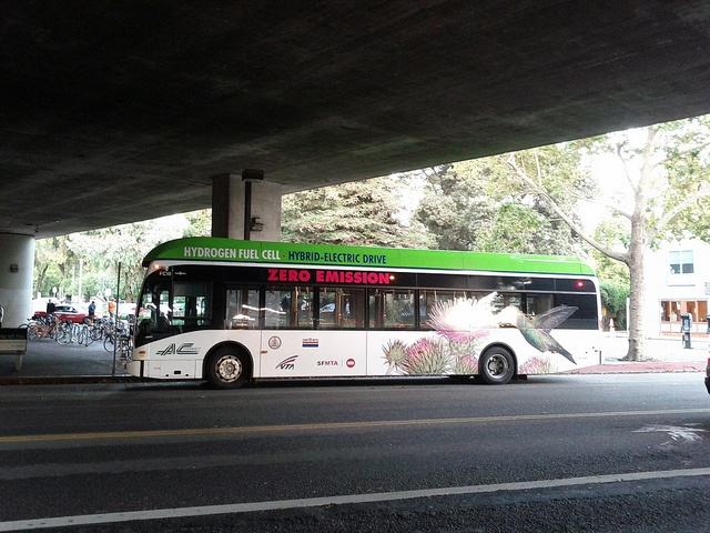 AC Transit hydrogen fuel cell bus