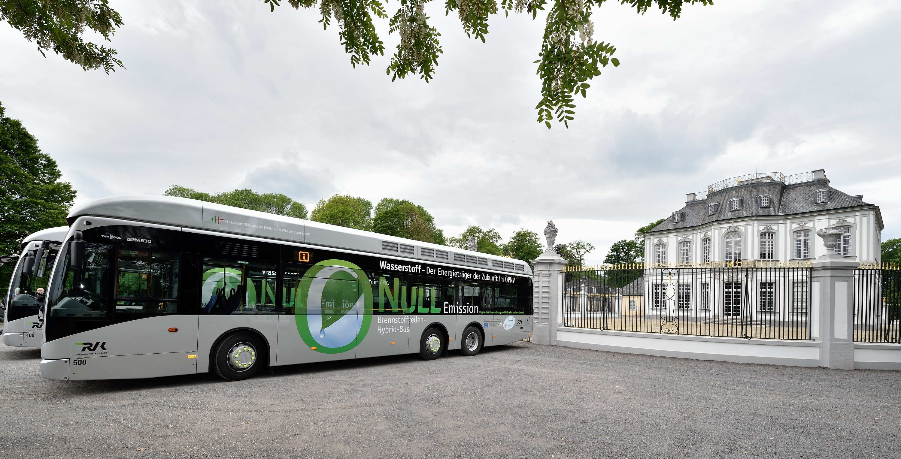 RVK Cologne fuel cell bus
