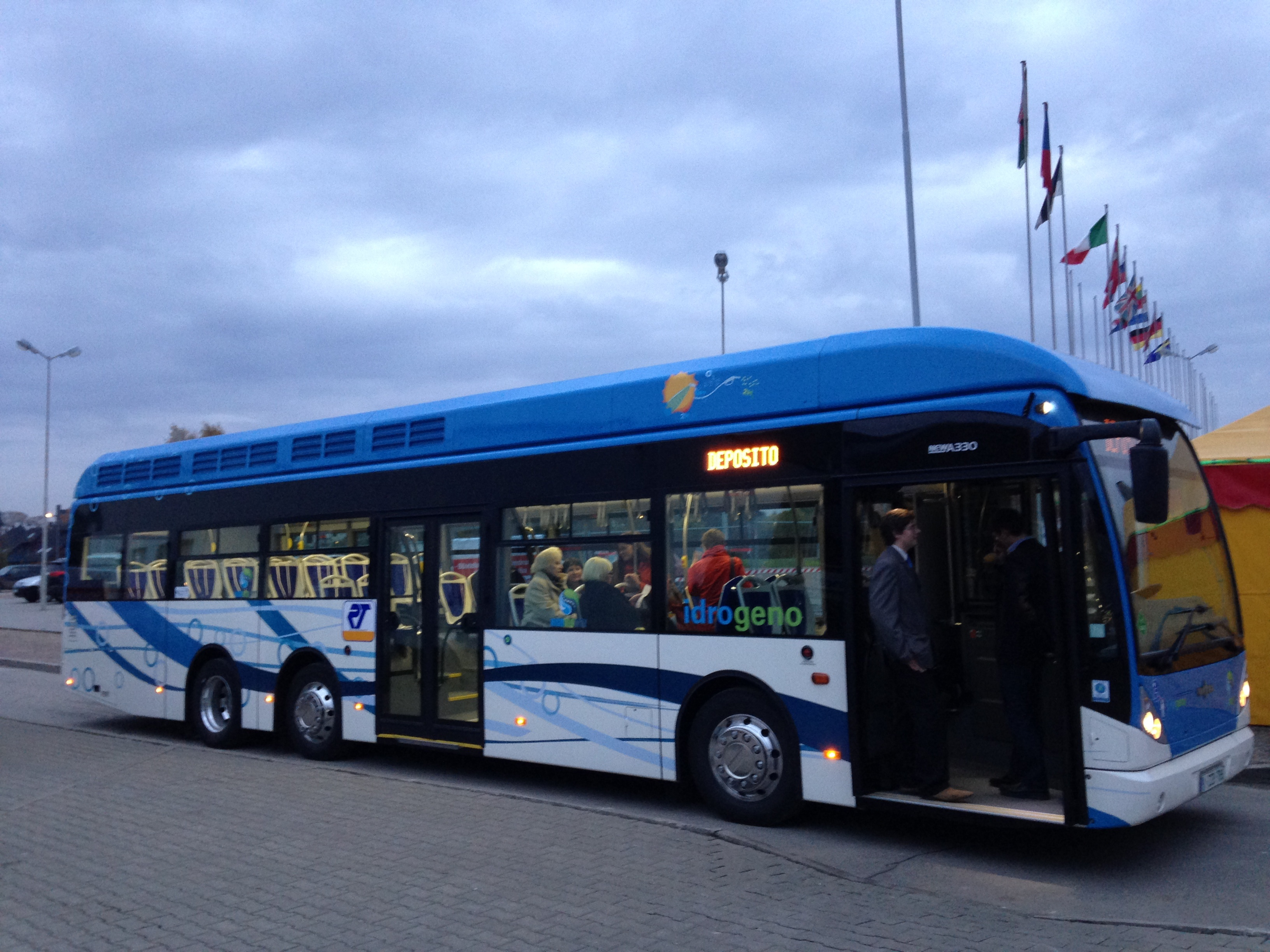 San Remo hydrogen-powered fuel cell bus