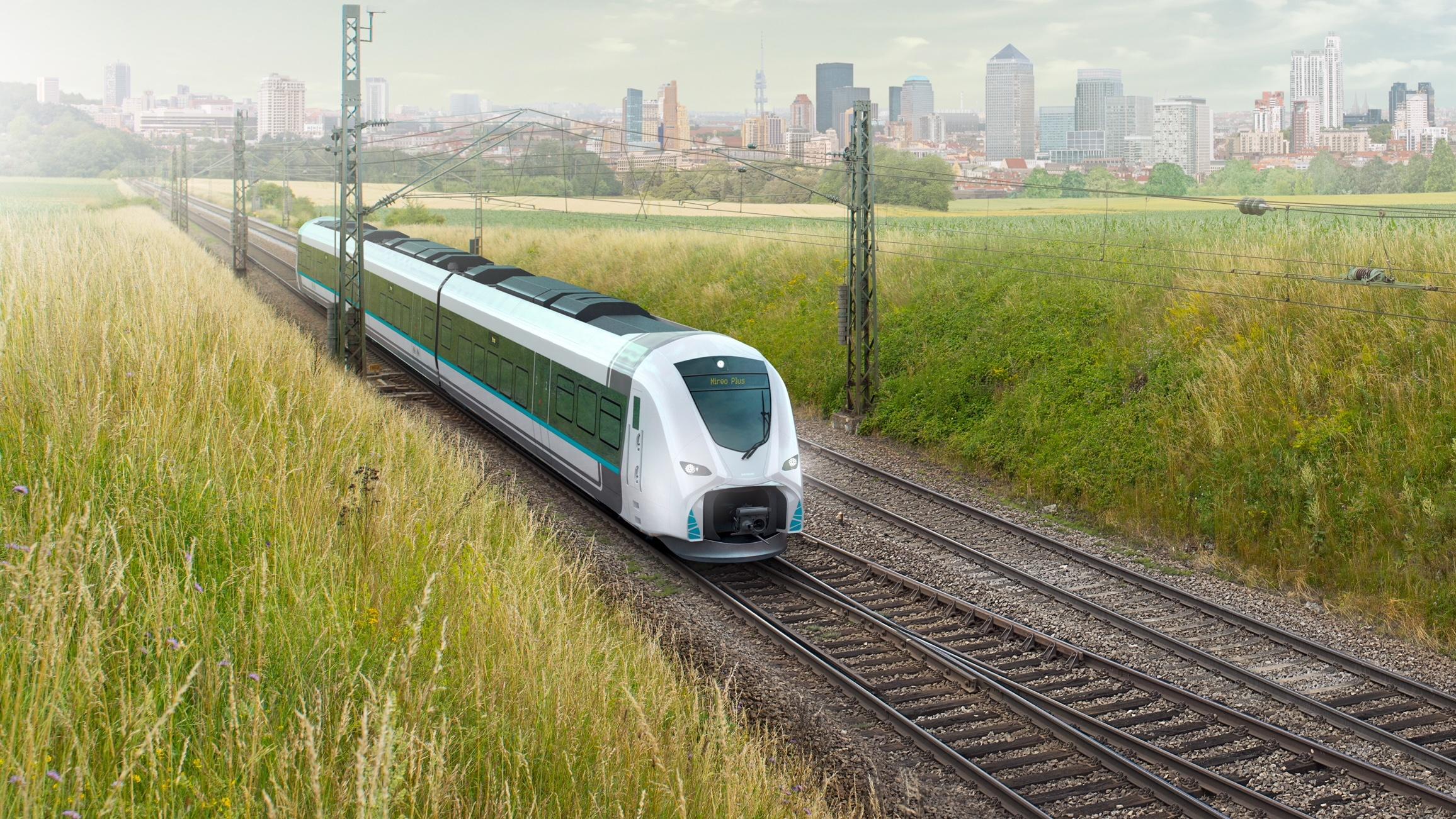 Siemens Mireo Hydrogen Regional Train