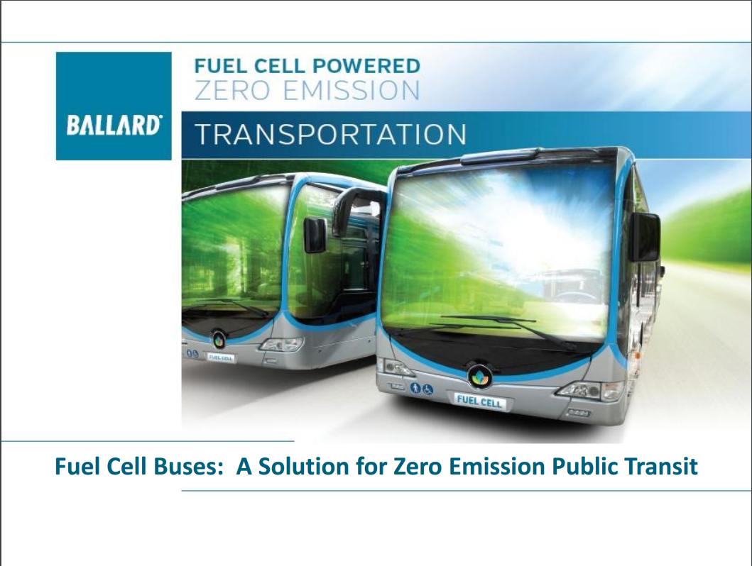 Fuel Cell Buses A Solution for Zero Emission