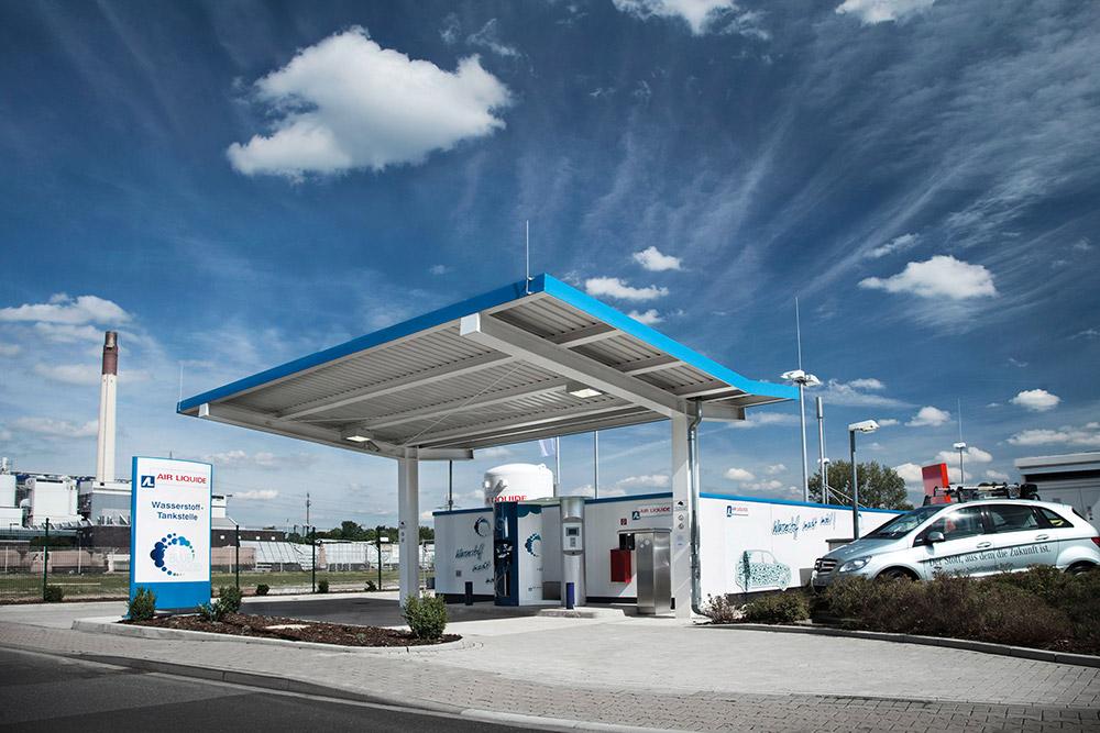 Hydrogen refuelling station in Germany.jpg